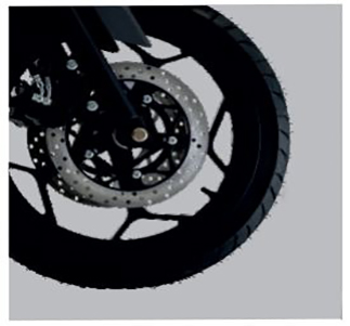 Stylish alloy wheels with duel disc Brakes